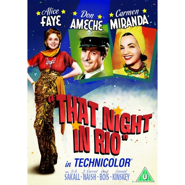 That Night In Rio DVD
