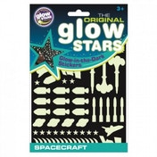The Original Glowstars Company Glow in the Dark Stickers Spacecraft
