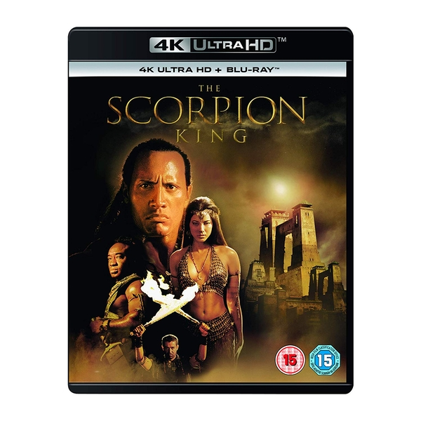 The Scorpion King 4K UHD Blu-ray