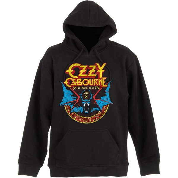 Ozzy Osbourne - Bat Circle Men's Medium Pullover Hoodie - Black