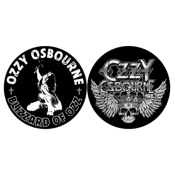 Ozzy Osbourne - Blizzard of Ozz/Crest Turntable Slipmat Set
