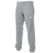Nike Adults Grey Fleece Jog Pant Small Grey