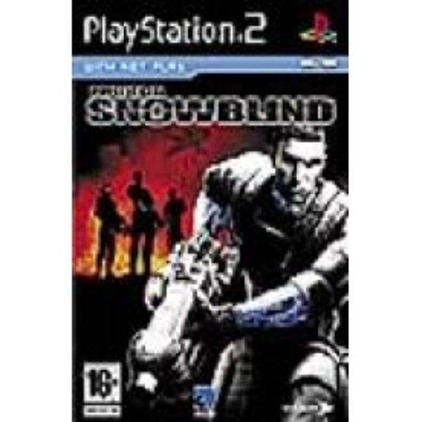 Project Snowblind Game PS2