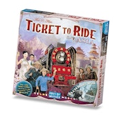 Ticket To Ride Map Collection Volume 1 Team Asia & Legendary Asia Board Game