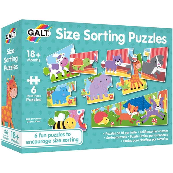 Size Sorting Learning Puzzles