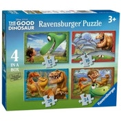 Disney The Good Dinosaur 4 Puzzles