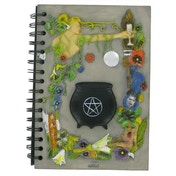 Witch Couldron  Magnetic Notebook 22cm