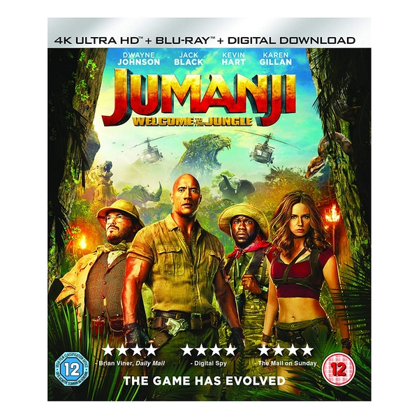 Jumanji Welcome To The Jungle 4K Ultra HD