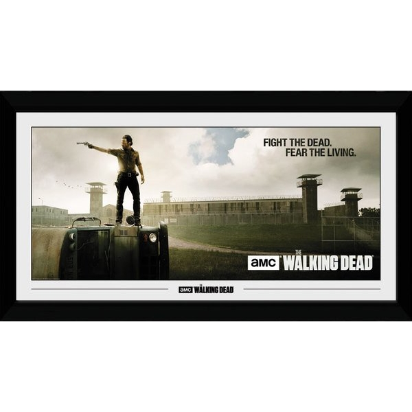 The Walking Dead Prison Collector Print