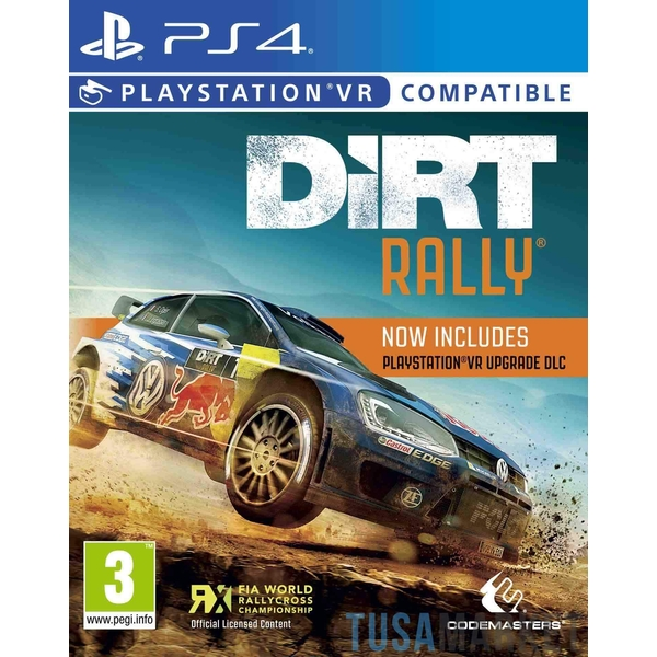 Dirt Rally VR PS4 Game (PSVR Compatible) [Damaged]