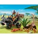 Playmobil Wildlife Evil Explorer and Quad with Pullback Motor - Image 2