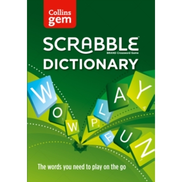 Collins Scrabble Dictionary Gem Edition: The words to play on the go by Collins Dictionaries (Paperback, 2017)