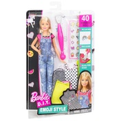 Barbie Emoji Denim Doll