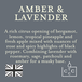 Amber & Lavender (Superstars Collection) Country Candle Wax Melt - Image 3