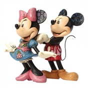 For My Sweetheart Mickey and Minnie Mouse (Disney Traditions) Figurine