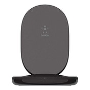 Belkin BoostCharge Wireless Charging Stand 15W (Qi Fast Wireless Charger for iPhone, Samsung, Pixel, more) - Black