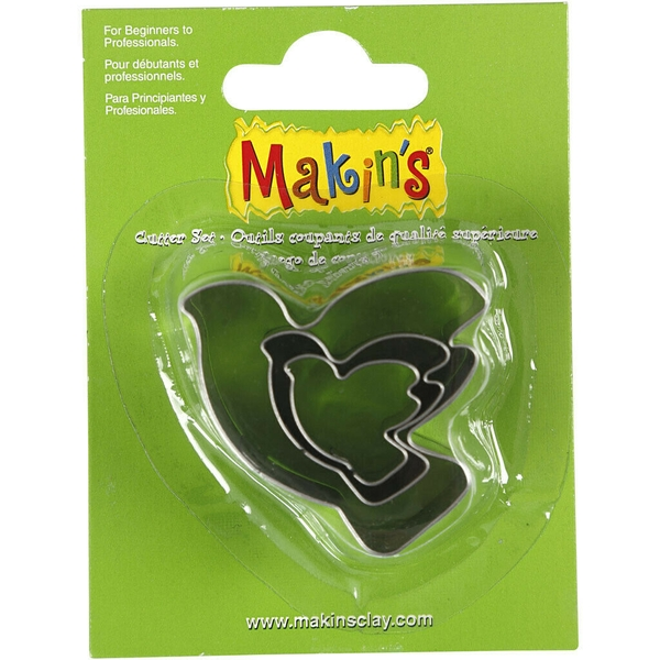 Clay Metal Shape Cutter (Set Of 3)