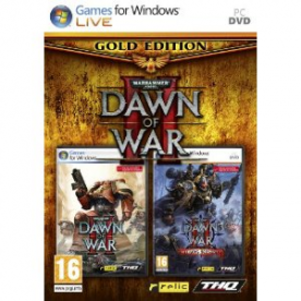 Warhammer 40000 Dawn Of War II 2 Gold Edition Game PC