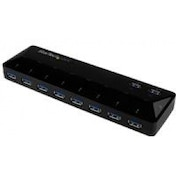 StarTech.com 10 Port USB 3.0 (5 Gbps) Hub 2x1.5A Charge And Sync Ports