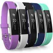 Yousave Fitbit Alta / Alta HR Strap 5-Pack Large - Multi-Colour