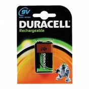 Duracell Rechargeable 9V 1 Pack Batteries