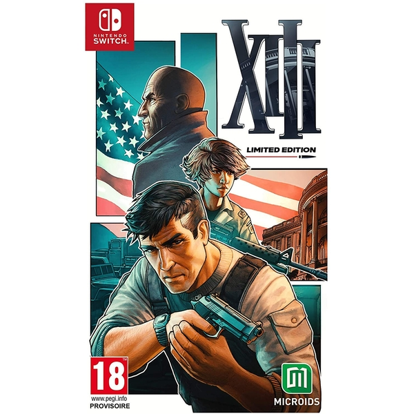 XIII Limited Edition Nintendo Switch Game