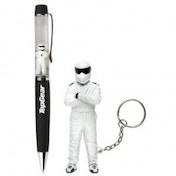 Top Gear Stig LED Keychain Mini Torch & Floating Pen Gift Set