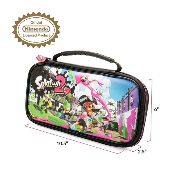 Nintendo Switch Officially Licensed Splatoon 2 Travel Case - Image 5