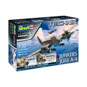 Junkers Ju88 A-4 (Aircraft) 1:32 Scale Level 5 Revell Technik Model Kit