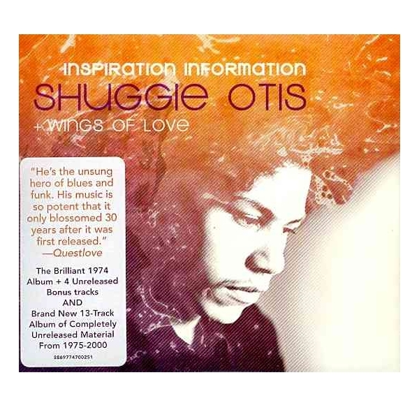 Shuggie Otis - Inspiration Information & Wings Of Love 2CD