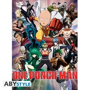 One Punch Man - Heroes Small Poster