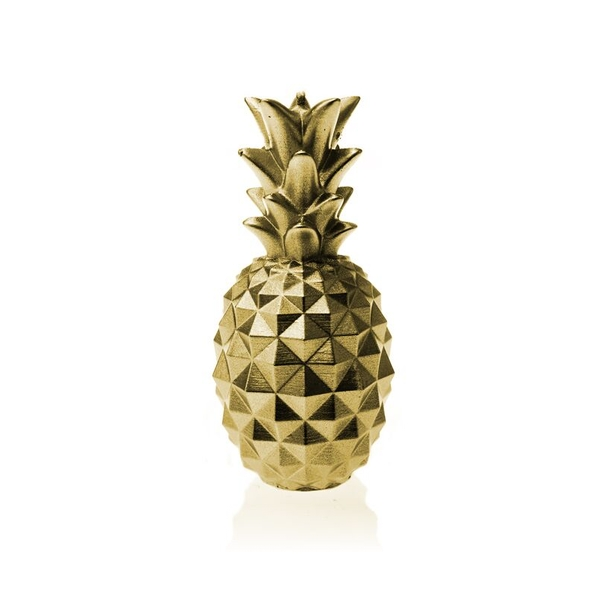 Classic Gold Medium Pineapple Candle
