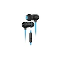 ROCCAT Aluma In-Ear Premium Performance Gaming Headset with Built-In Microphone Black/Blue (ROC-14-210)