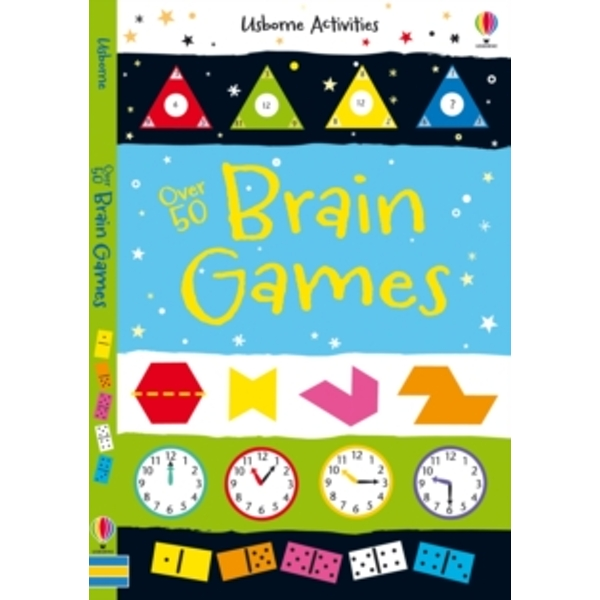 Over 50 Brain Games (Activity and Puzzle Books) Paperback