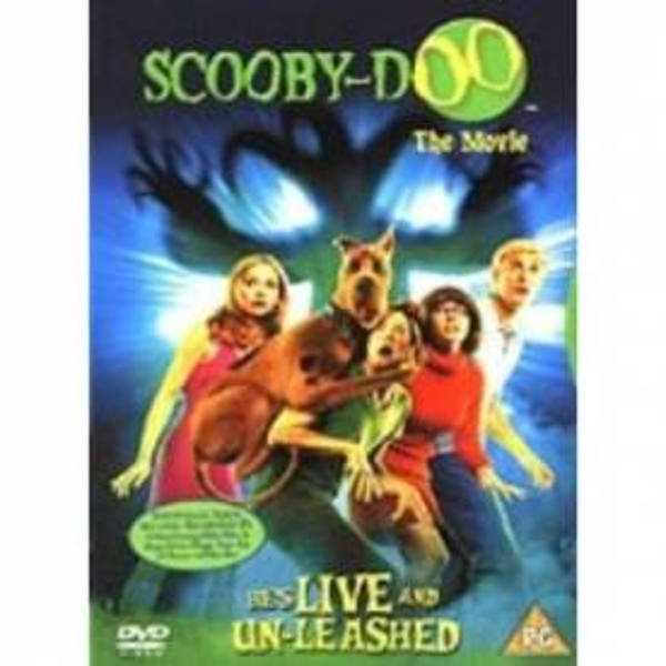 Scooby-Doo The Movie Hes Live And Un-Leashed DVD