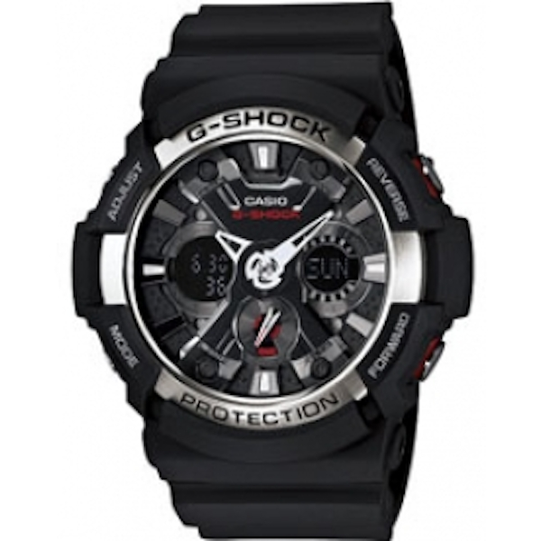 Casio GA200-1A Men's Analouge Watch with World Time Function