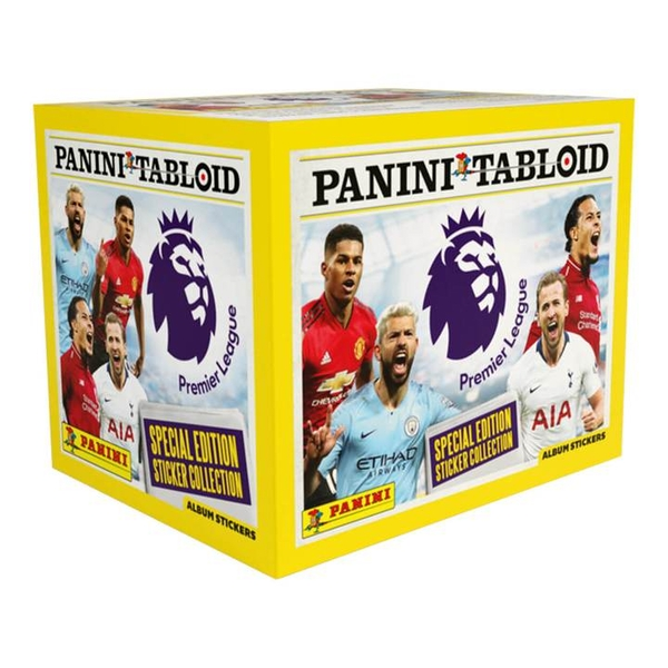 Panini Tabloid 2019 Football Sticker Collection (50 Packs)