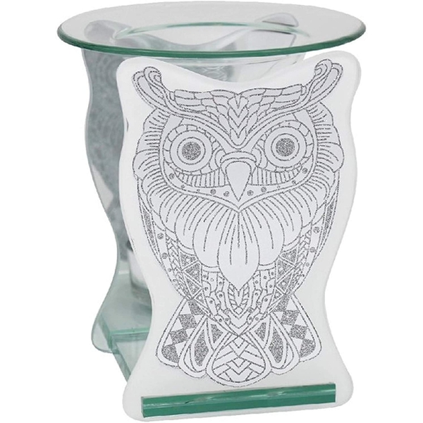 Glass Owl Wax Oil Warmer By Lesser & Pavey