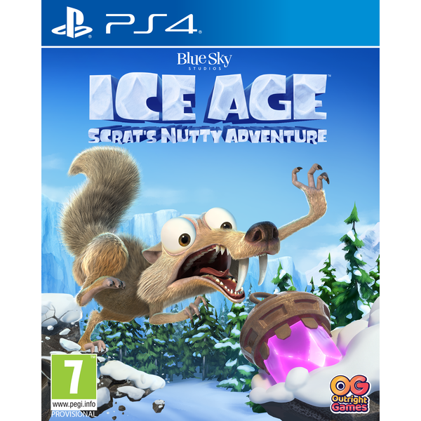 Ice Age Scrat's Nutty Adventure PS4 Game