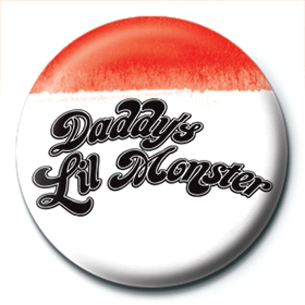 Suicide Squad - Daddy's Lil Monster Badge