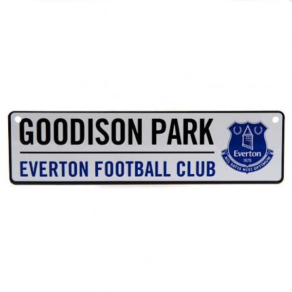 Everton FC Stadium Window Sign