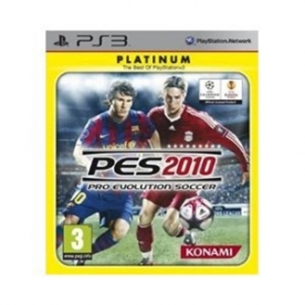 Ex-Display Pro Evolution Soccer 2010 Game PS3 Used - Like New