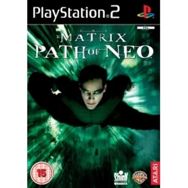 Ex-Display The Matrix Path Of Neo Game PS2 Used - Like New