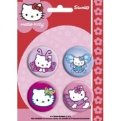 Hello Kitty Butterfly Badge Pack