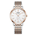 Rotary GB90191/01 Quartz Windsor Gents Bracelet PVD Two Tone Rose Watch