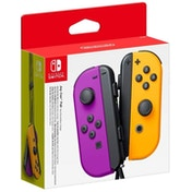 Nintendo Switch Joy-Con Controller Pair (Neon Purple/Neon Orange)
