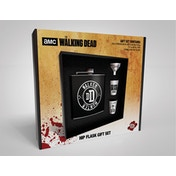 The Walking Dead - Walker Hunter Hip Flask Gift Set