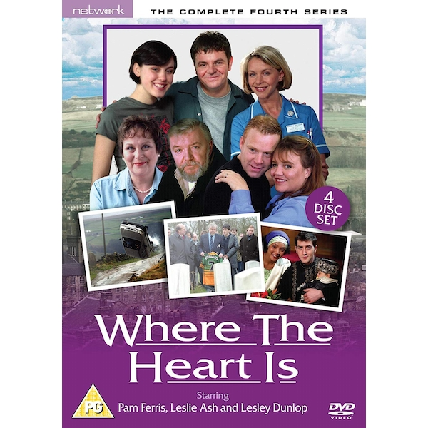 Where The Heart Is - Series 4 - Complete DVD 4-Disc Set