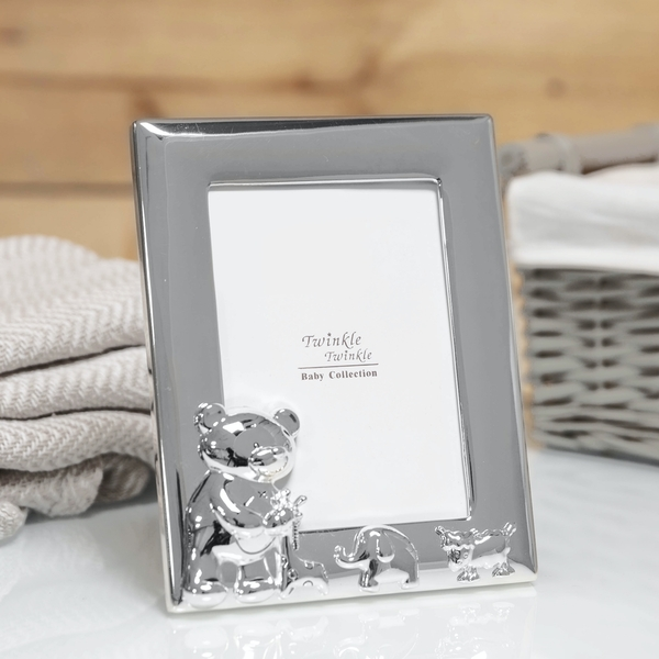 Twinkle Twinkle Silver-Plated Baby Photo Frame