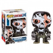 Exclusive Crossbones Battle Damage (Captain America: Civil War) Funko Pop! Vinyl Bobble-Head Figure